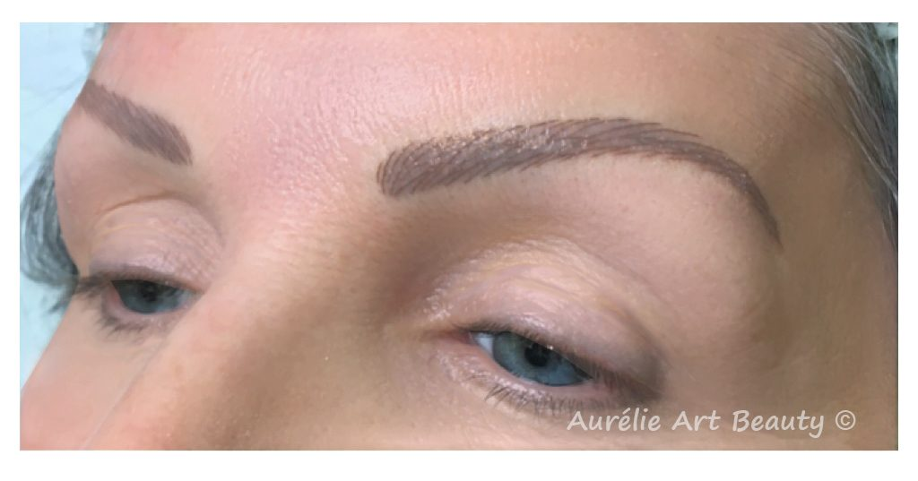 Maquillage permanent sourcil Aurelie Art Beauty Annecy