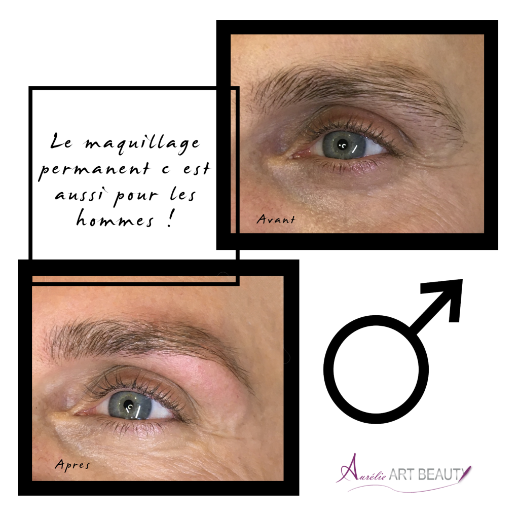 Maquillage permanent homme Annecy
